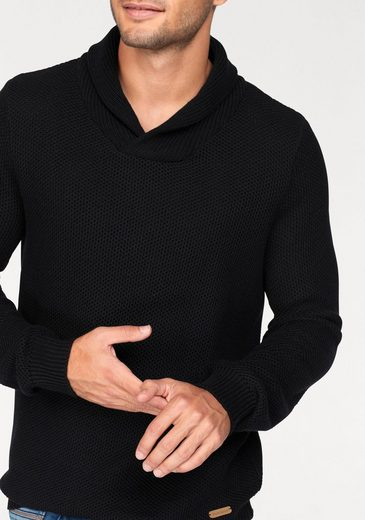 Bruno Banani Shawl Collar Sweater