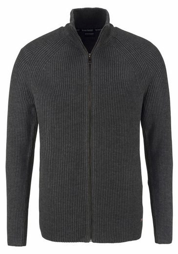 Bruno Banani Strickjacke, Grobstrick