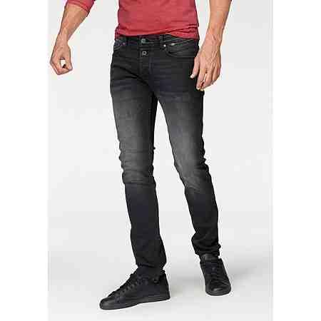 Q/S designed by Slim-fit-Jeans Mit modischer Knopfleiste