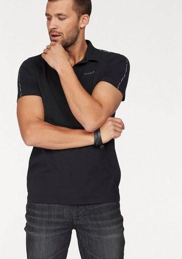 Bruno Banani Poloshirt, mit Markentape an den Schultern