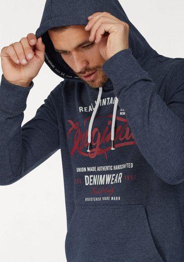 John Devin Kapuzensweatshirt, mit Kordel