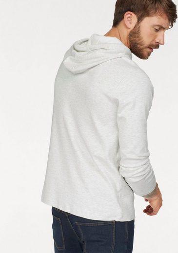 John Devin Kapuzensweatshirt, in sommerlicher Qualität