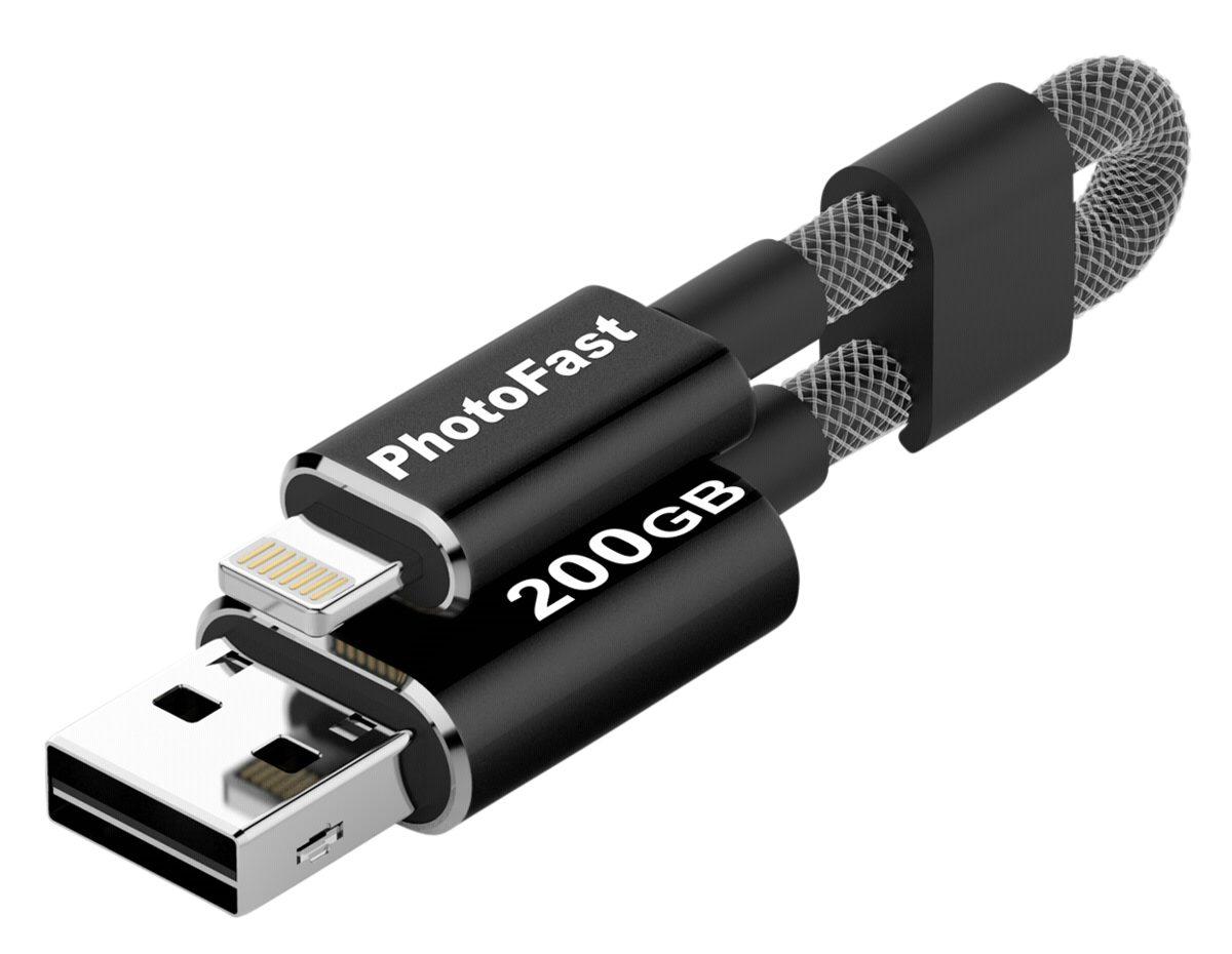 PhotoFast USB-Sticks »MemoriesCable 200GB Gen3«