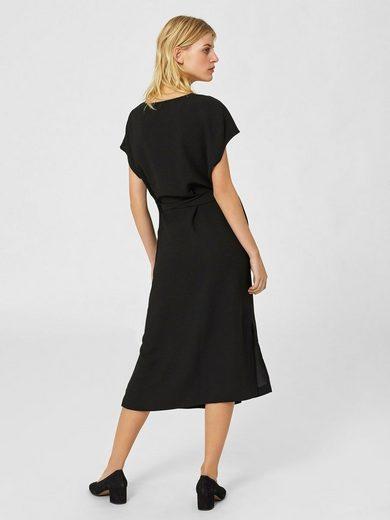 Selected Femme A-förmiges Kleid mit kurzen Ärmeln