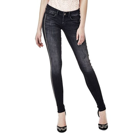 Guess JEGGINGS SEITLICHE APPLIKATIONEN
