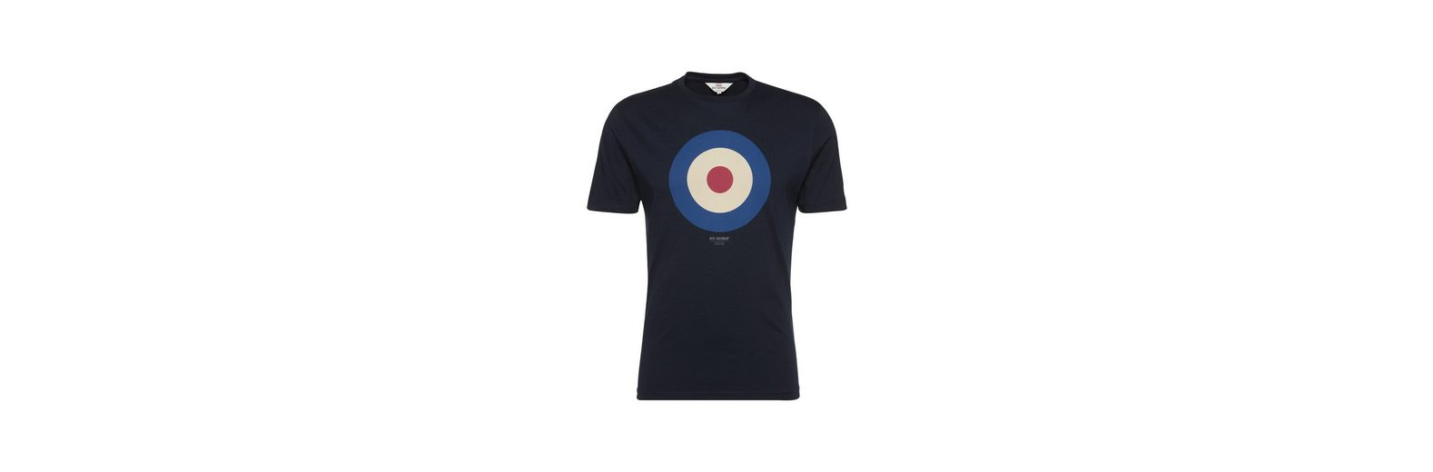 Ben Sherman Print-Shirt THE TARGET TEE