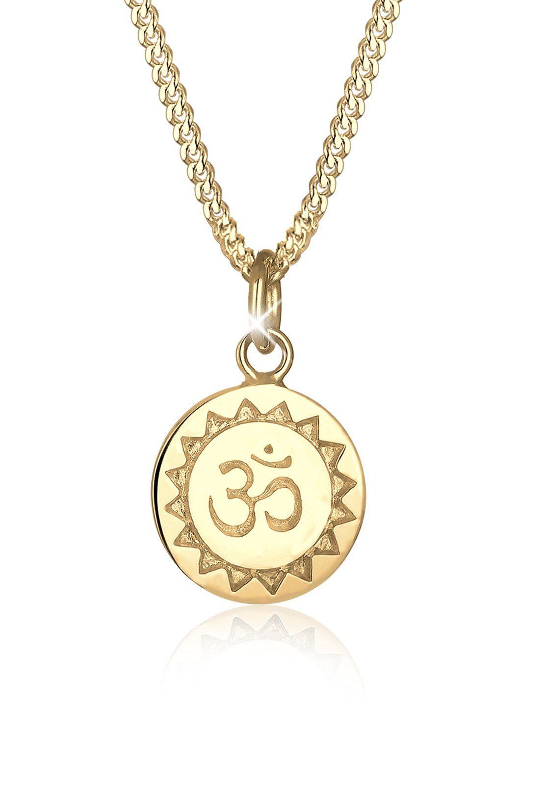 Elli Halskette »Om Mantra Yoga Kraftsymbol 925 Sterling Silber«