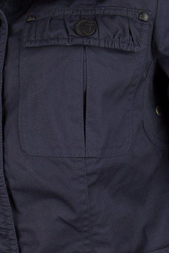 DREIMASTER Anorak mit abnehmbarem Gürtel