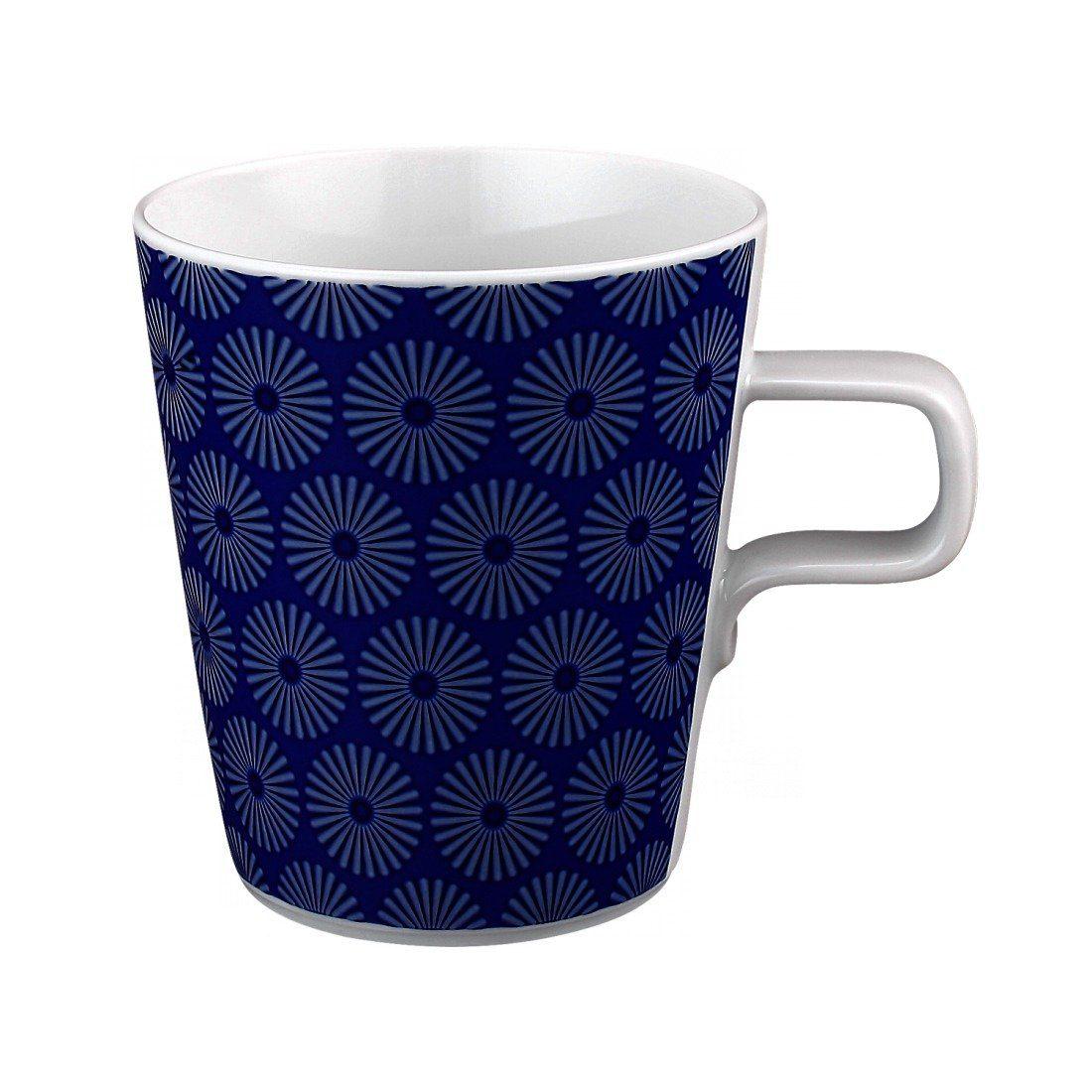 Seltmann Weiden Milchkaffeetasse »No Limits Blue-Motion«