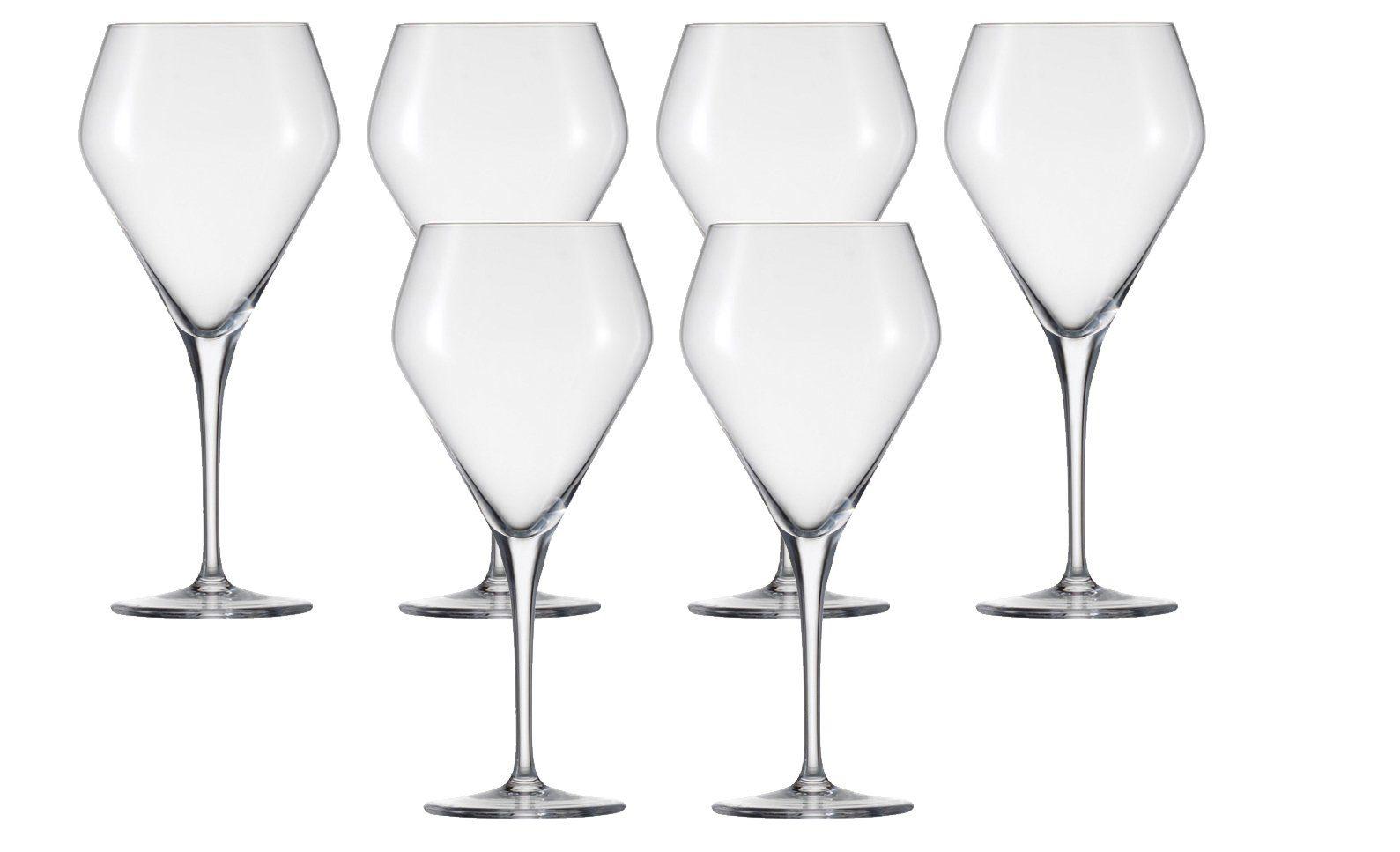 Burgunder Glas 6er-Set »Estelle«