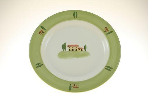 Zeller Keramik Speiseteller (Volldeko) »Bella Toscana«