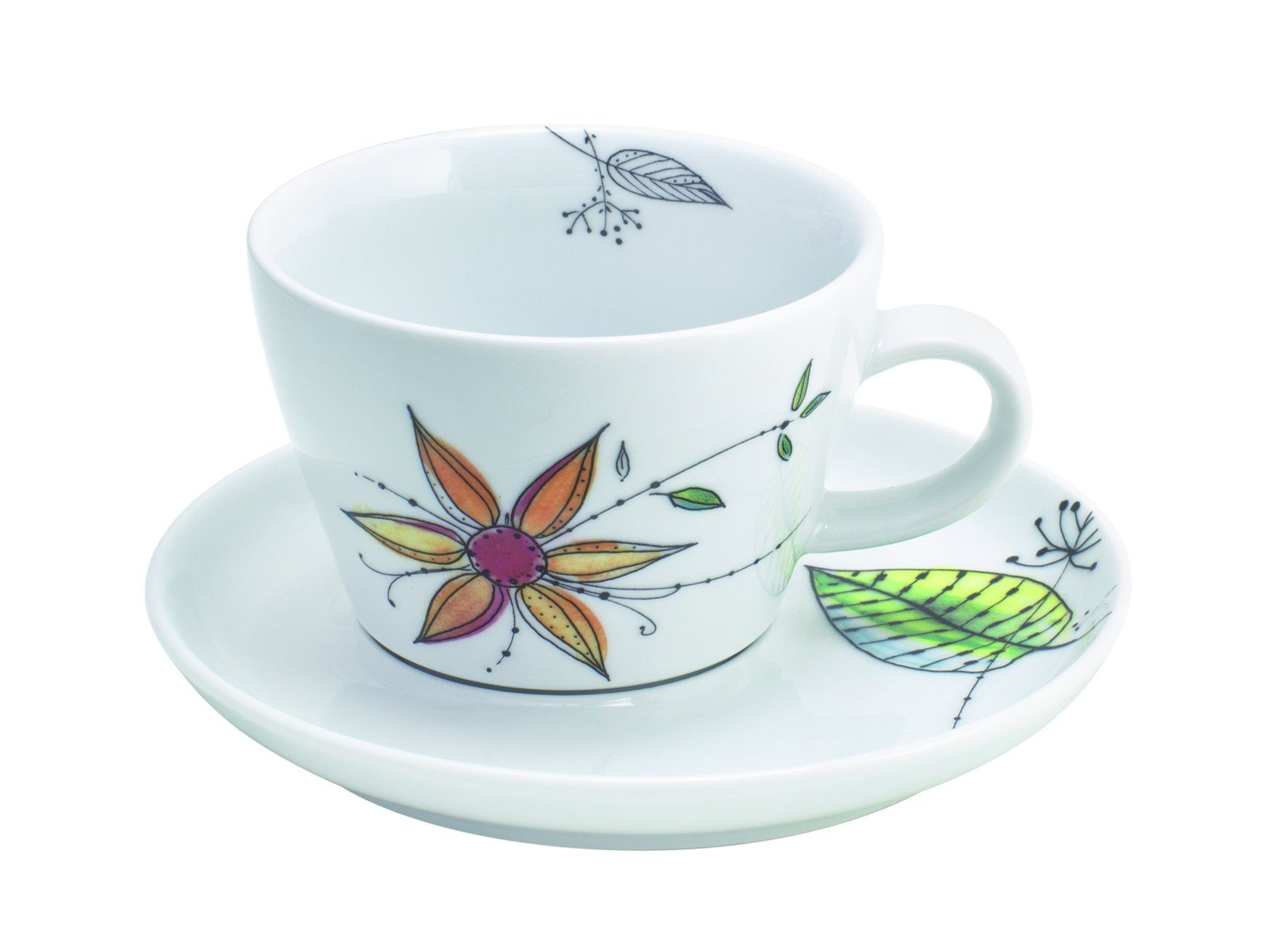 Kahla Cappuccino-Gedeck 2-tlg. »Five Senses Wonderland«