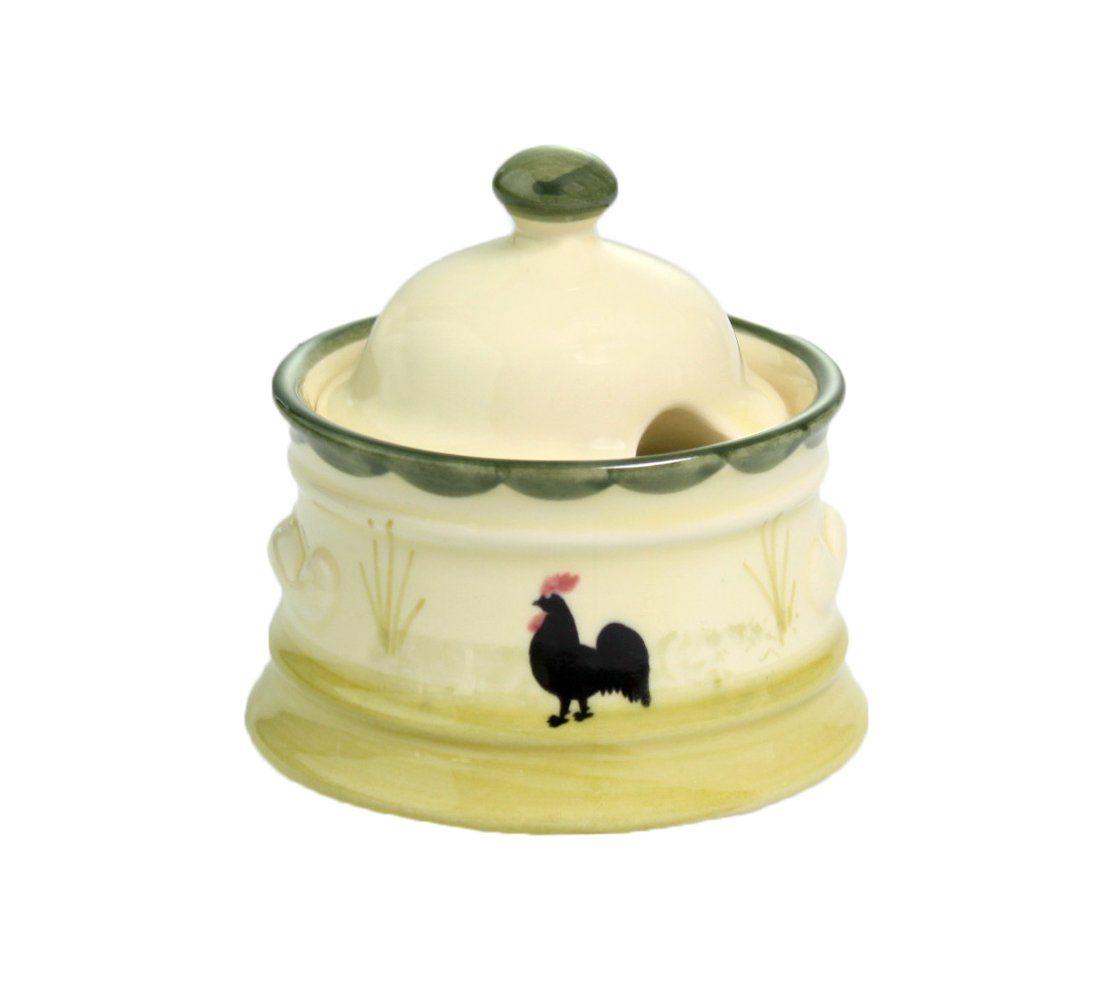 Zeller Keramik Zuckerdose »Hahn und Henne«