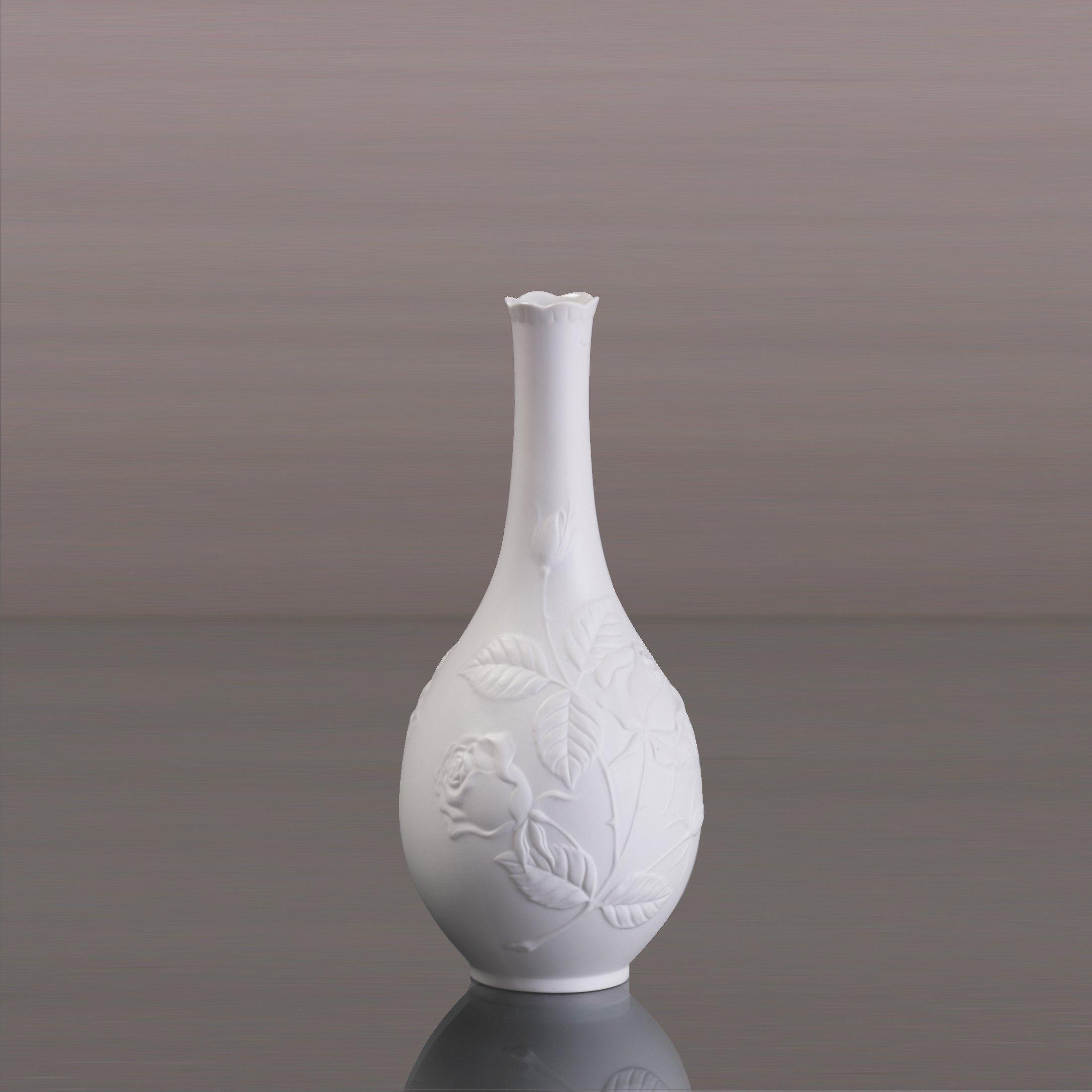 Kaiser Porzellan Vase Rosengarten 21,00 cm