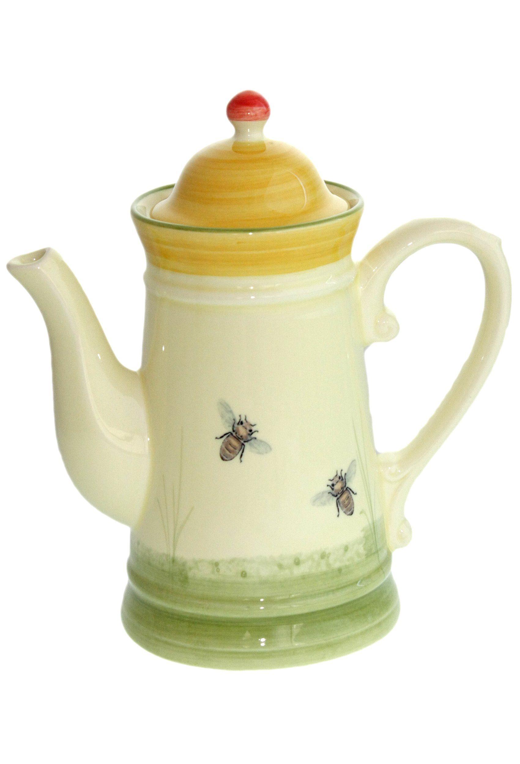 Zeller Keramik Kaffeekanne »Biene«