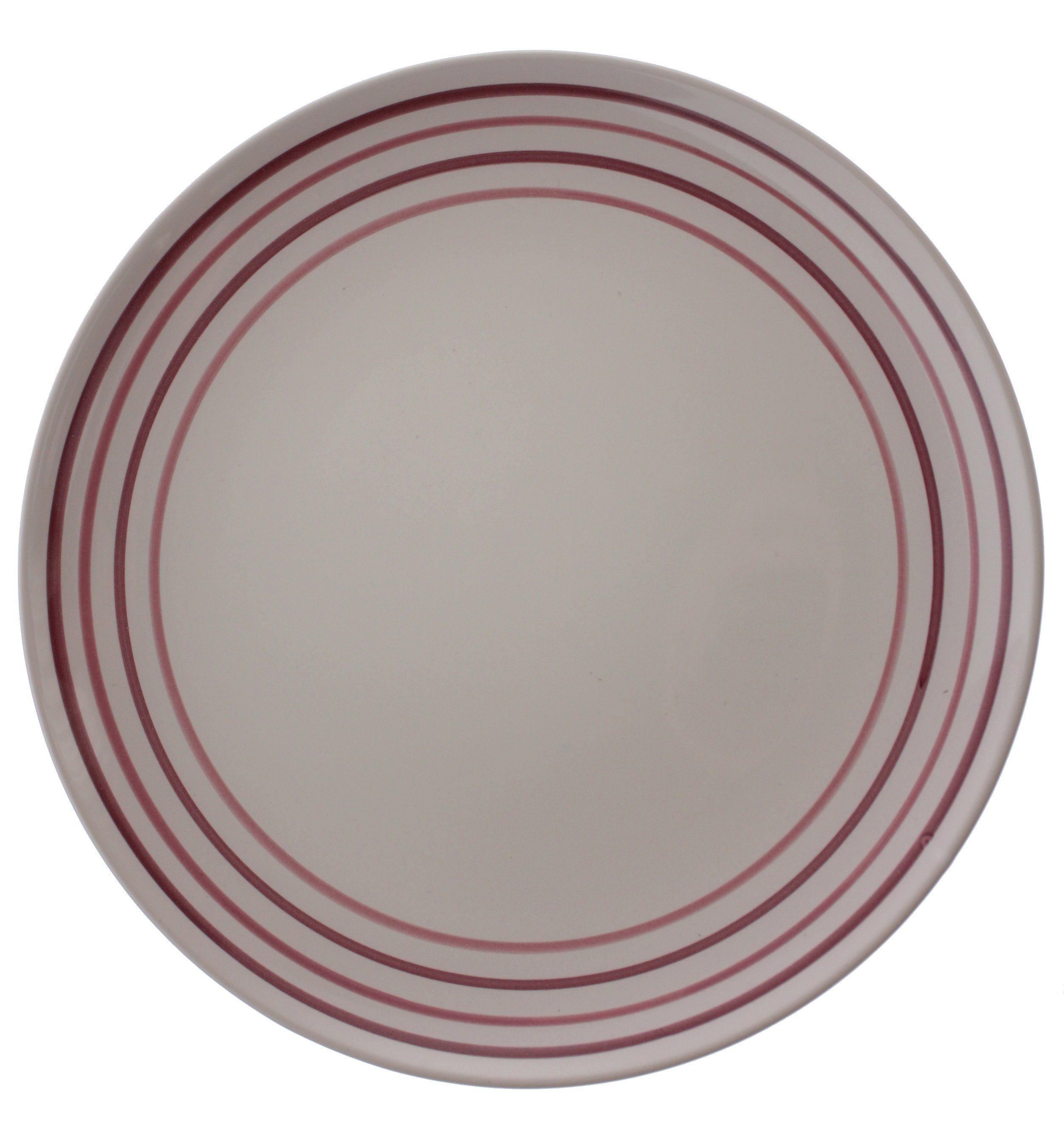 Zeller Keramik Teller flach »Ono Cara«