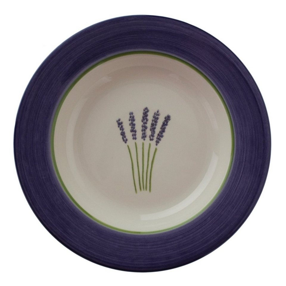 zeller keramik suppenteller fleur de provence otto. Black Bedroom Furniture Sets. Home Design Ideas
