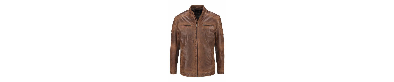 Billig Verkauf Größte Lieferant Rhode Island Lederjacke Nagelneu Unisex Verkauf 100% Authentisch Kauf Verkauf Online UQZM8dB