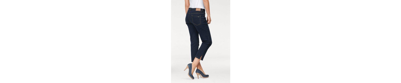 Arizona 7/8-Jeans seitliche Schlitze am Saum, High Waist