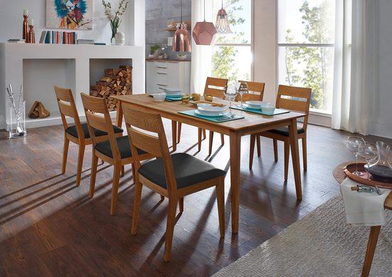 SCHÖSSWENDER Essgruppe »Filippa«, (Set, 7-tlg), Tisch mit 6 Stühlen