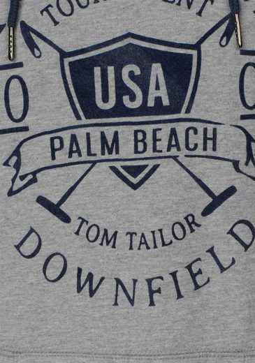 Kapuzensweatshirt Tailor Mit Tom Frontprint Team Polo PtaSRwRq