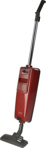 Omega Stielstaubsauger COMFORT Parkett, 800 Watt, mit Beutel, Parkettbürste, umschaltbare Bodendüse, Polster- und Fugendüse