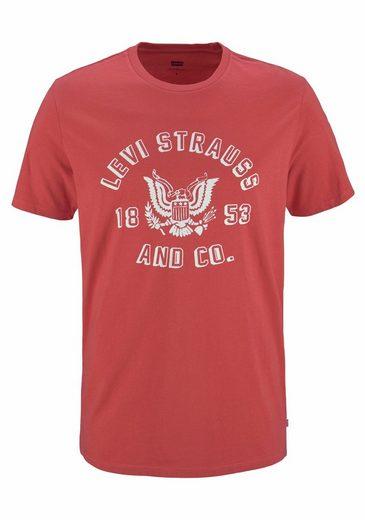 Levi's® T-Shirt, mit Markenprint