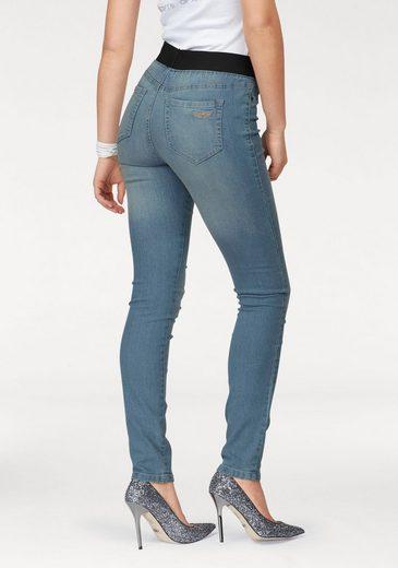 Arizona Skinny-fit-Jeans Mid Waist Comfort-Stretch
