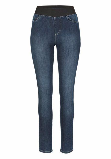 Hosen - Arizona Skinny fit Jeans Mid Waist Comfort Stretch › blau  - Onlineshop OTTO
