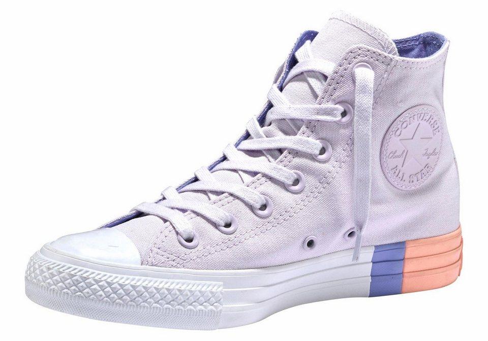 converse chuck taylor all star hi colorblock sneaker. Black Bedroom Furniture Sets. Home Design Ideas