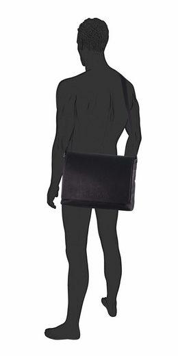 Messenger Gepolstertem Mit Bag Tailor »kenny« Laptopfach Tom HSqB1B