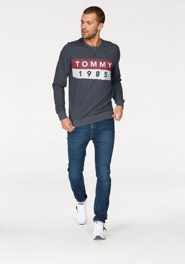 TOMMY JEANS Sweatshirt TJM BASIC LOGO CN HKNIT L/S 11