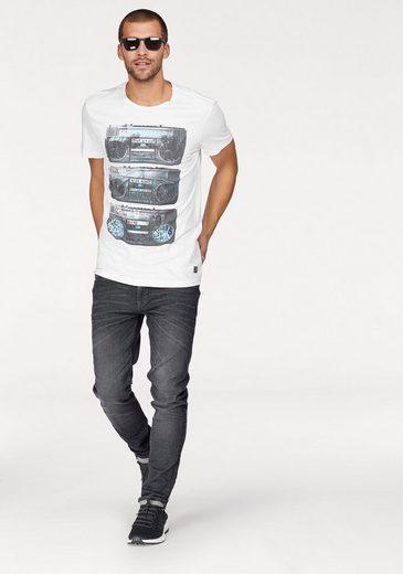 Blend T-Shirt, mit Radioprint