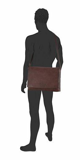 Tom Tailor Messenger Bag KENNY, mit gepolstertem Laptopfach