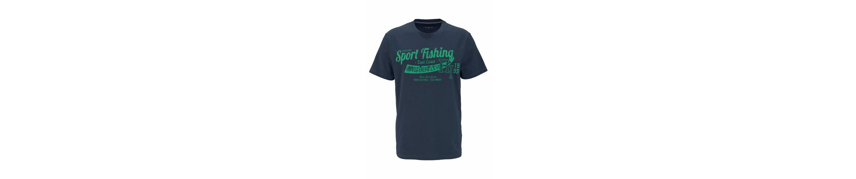 Rhode Island T-Shirt, mit Kontrastnähten