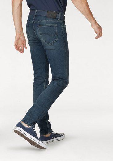 Lee® Tapered-fit-Jeans LUKE, leichte Abriebeffekte