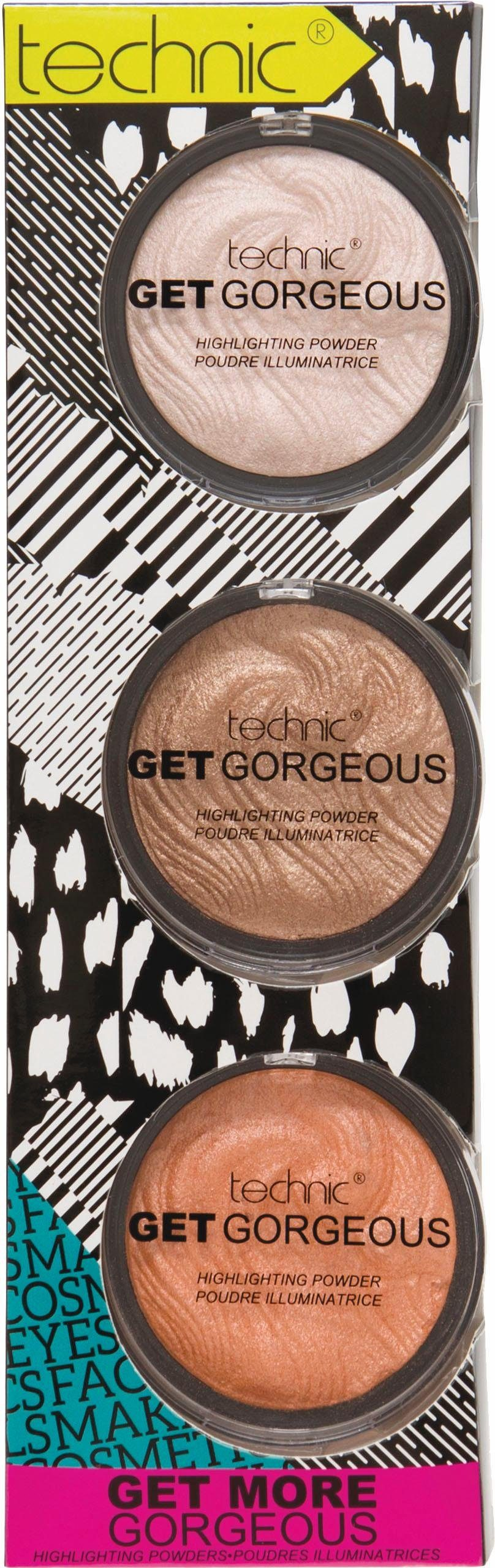technic, »Get More Gorgeous«, Highlighter-Set