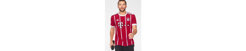 adidas Performance Fu脽balltrikot FC Bayern Heimtrikot, mit atmungsaktiven Mesh-Eins盲tzen