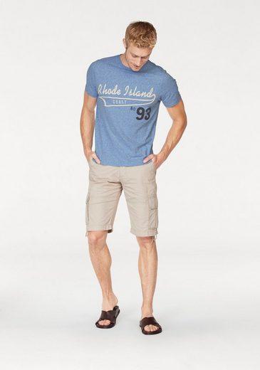 Rhode Island T-Shirt, Melange-Optik