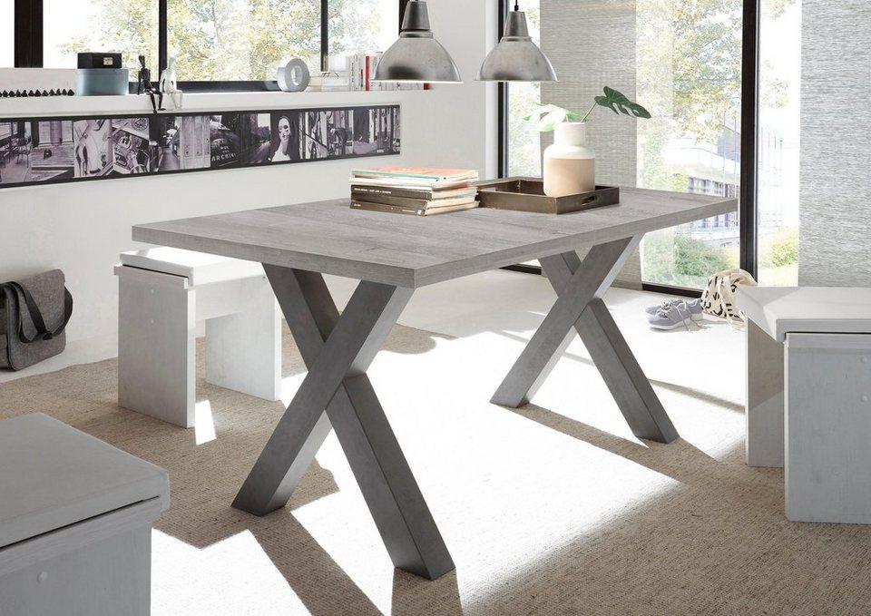 esstisch mit auszug breite 160 210 cm kaufen otto. Black Bedroom Furniture Sets. Home Design Ideas