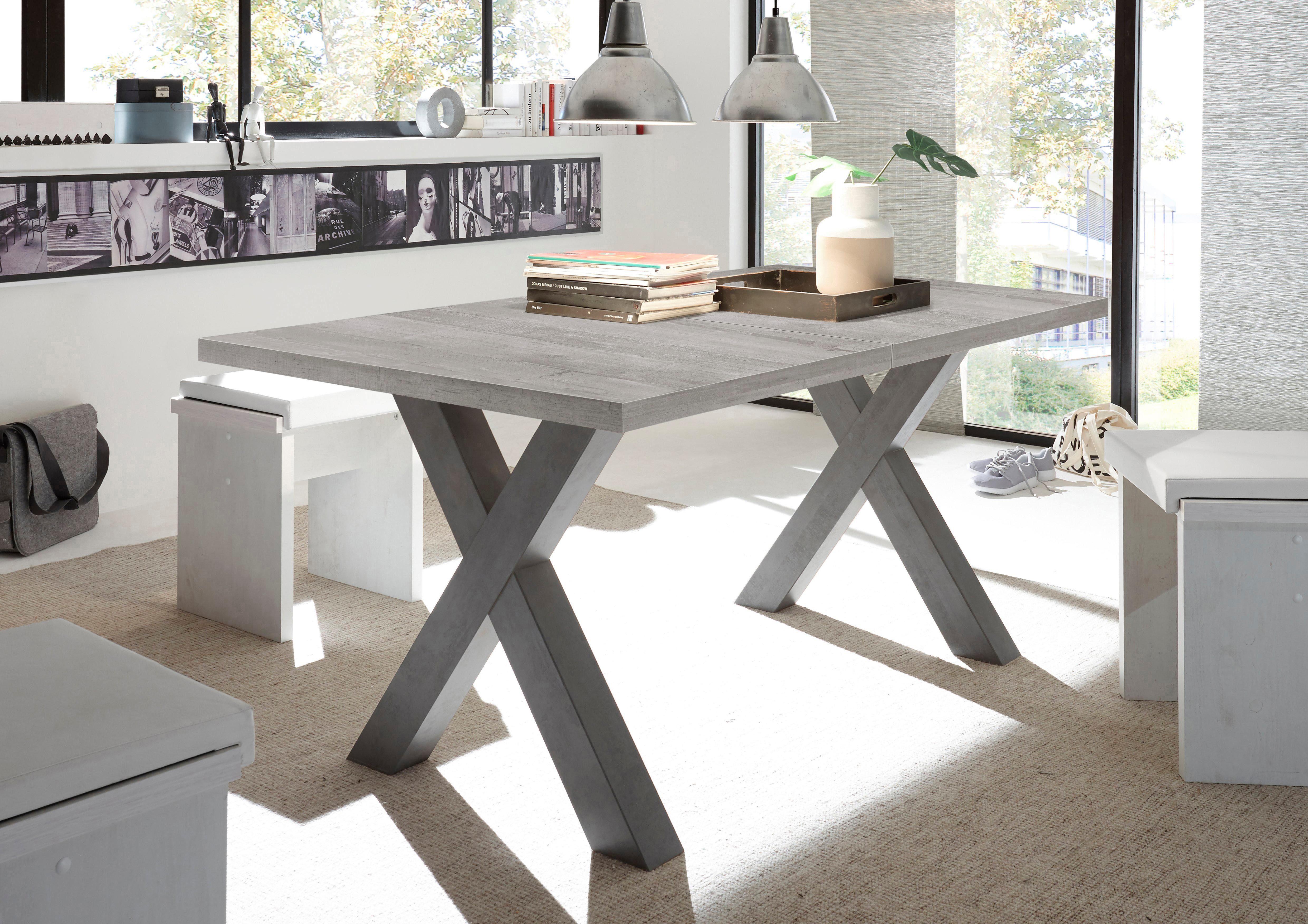 Esstisch mit Auszug, Breite 160-210 cm