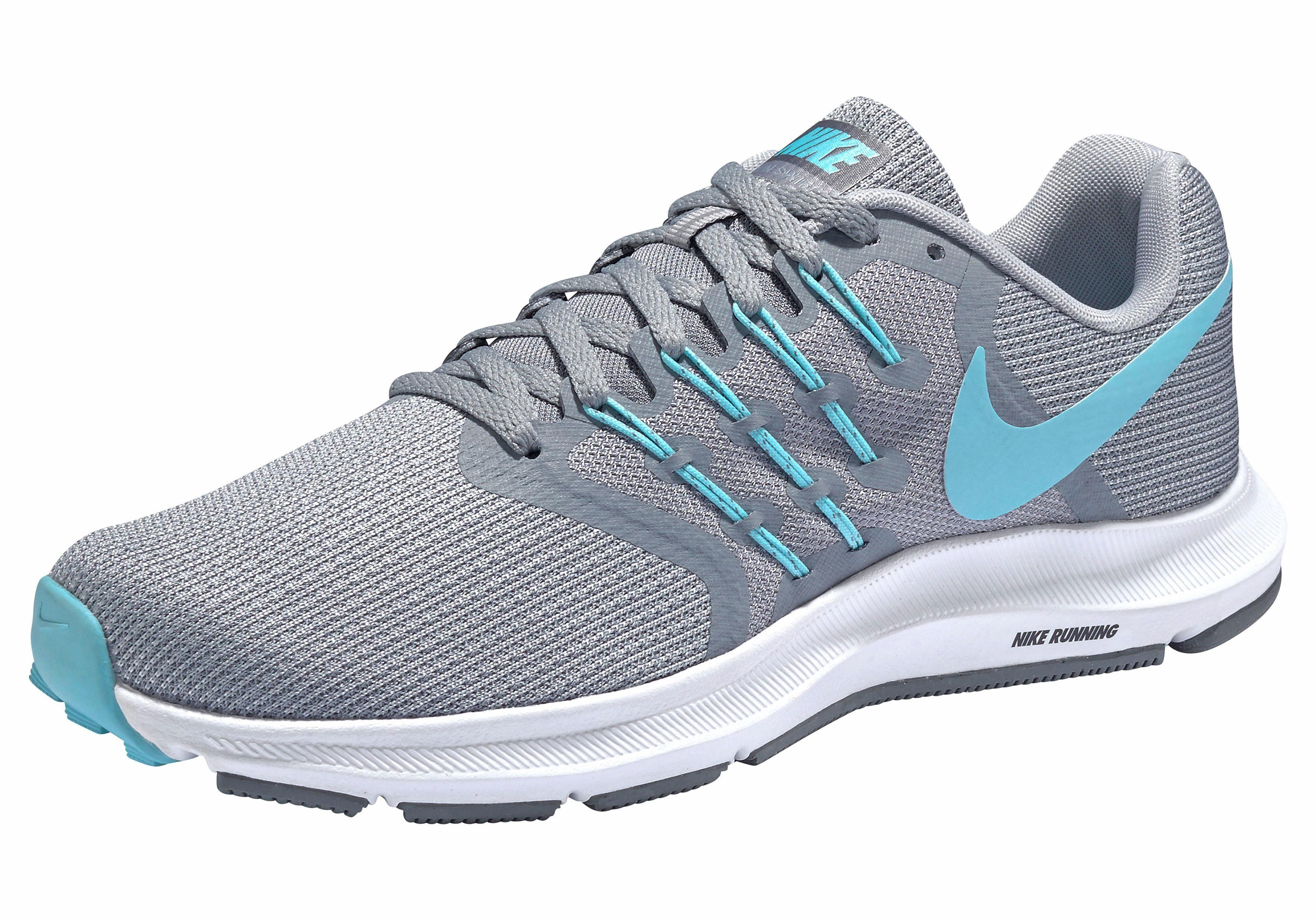 Nike Wmns Run Swift Laufschuh online kaufen  grau-türkis
