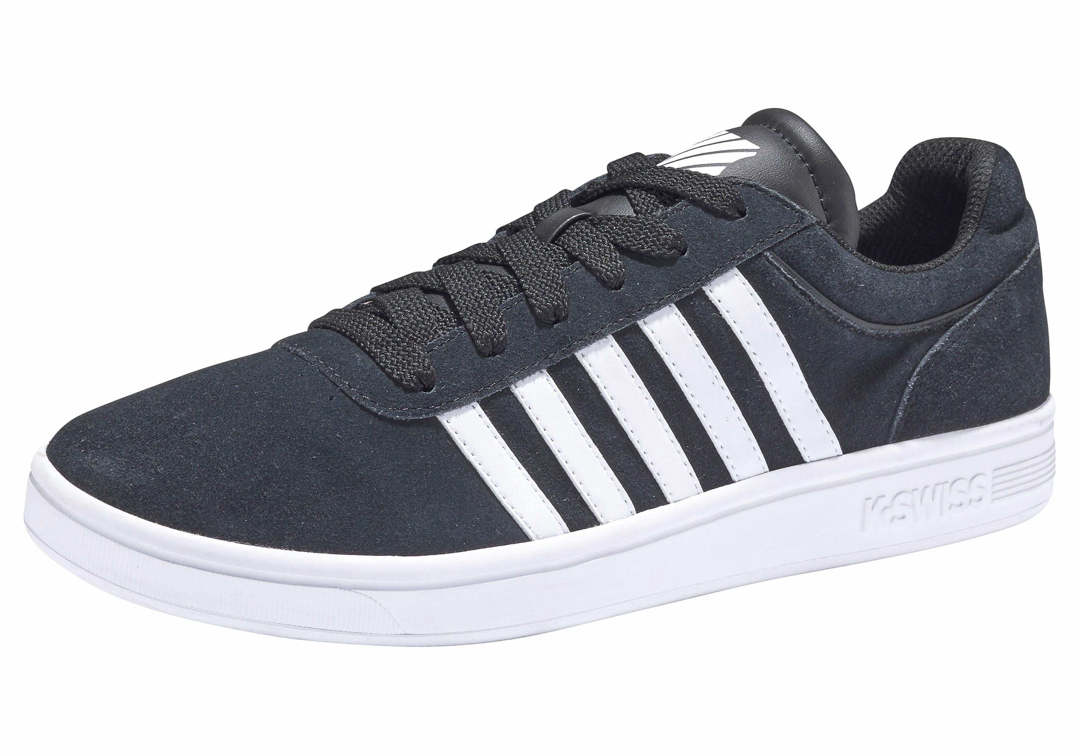K-Swiss Court Cheswick Suede Sneaker kaufen  schwarz
