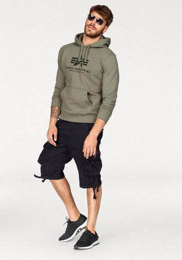 Alpha Industries Kapuzensweatshirt Basic Hoody