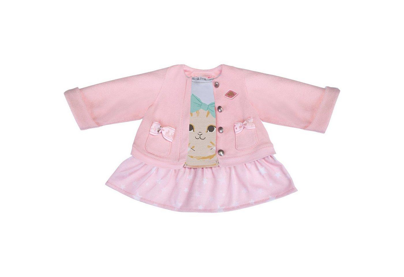 Schildkröt Puppenbekleidung 2 in 1 Kleid mit Jacke Kätzchen, 43 cm
