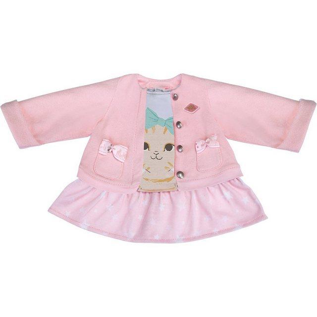 Schildkröt Puppenbekleidung 2 in 1 Kleid mit Jacke Kätzchen