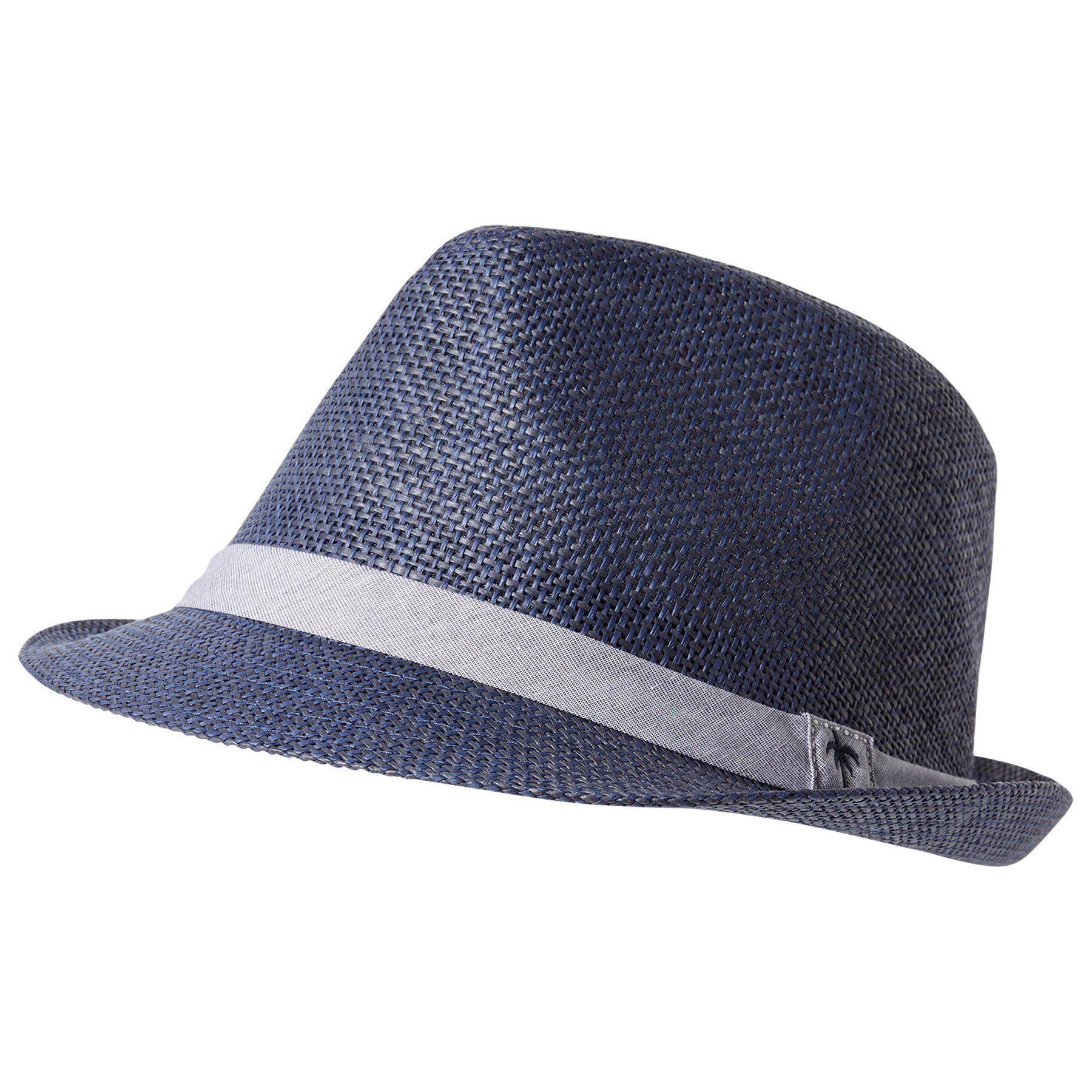 Tom Tailor Strickmütze »lässiger Stroh-Hut mit Band«