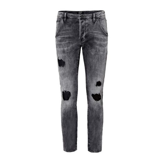 Guess Jeans Tapered Abriebstellen