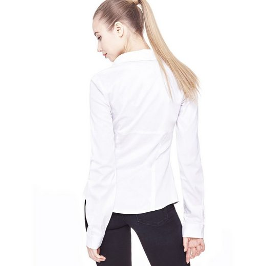 Guess Classic Blouse Made Of Cotton