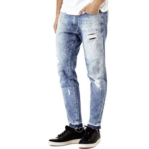 Devinez Jeans Conique Risse